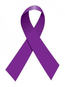 wereld IBD dag paars lintje awareness